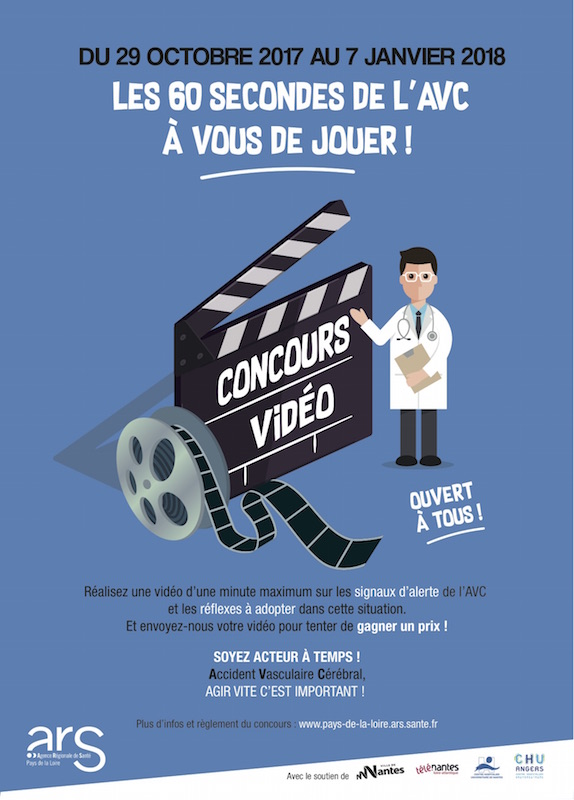 Affiche A4 concours video AVC