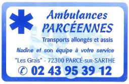 ambulances parcennes